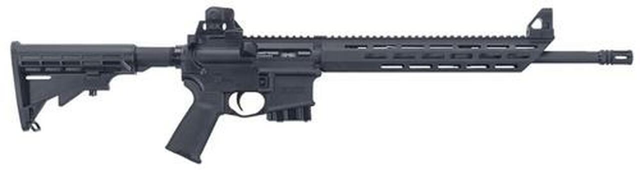 Image of MMR Carbine 5.56mm NATO/.223 Remington 16.25 Inch Barrel 6 Position Adjustable Stock MOE Grip Black 10 Round California Compliant