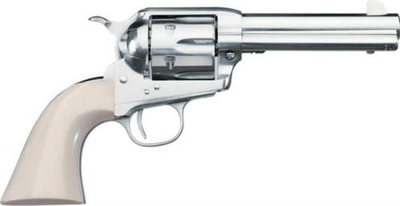 """Image of *D*Uberti 1878 Short Stroke SASS Nickel .45 Colt, 5 1/2"""" Barrel"""