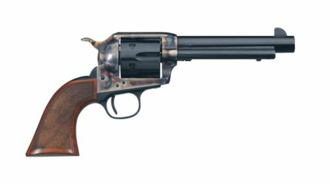 """Image of Uberti Short Stroke SASS Pro, .45 Colt, 5.5"""", 6rd, Walnut, Blued"""
