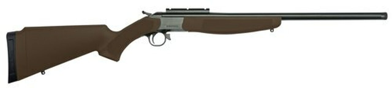 Image of CVA Hunter 7mm-08 Rem, Brown Compact Adjustable Stock, 1rd