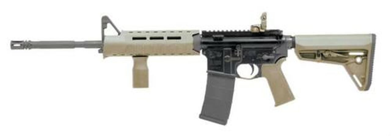 "Image of Colt LE6920 MPS 5.56/.223 16"" Barrel Magpul Slim Line Furniture Flat Dark Earth 30rd Mag"