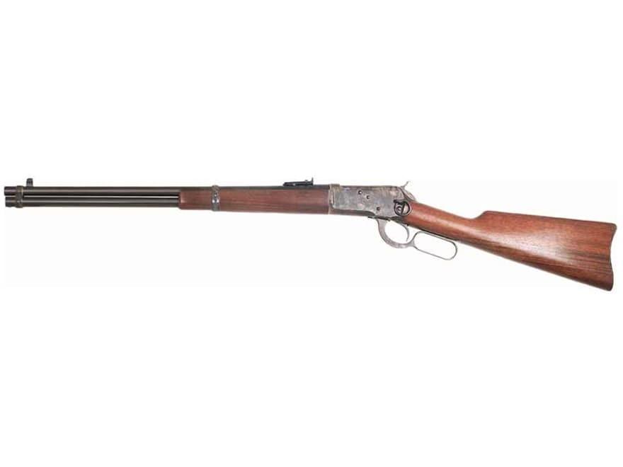 """Image of Cimarron 1892 Saddle Ring Carbine 45 Colt (Long Colt) 20"""" Barrel Color Case Hardened, Blue, Walnut"""