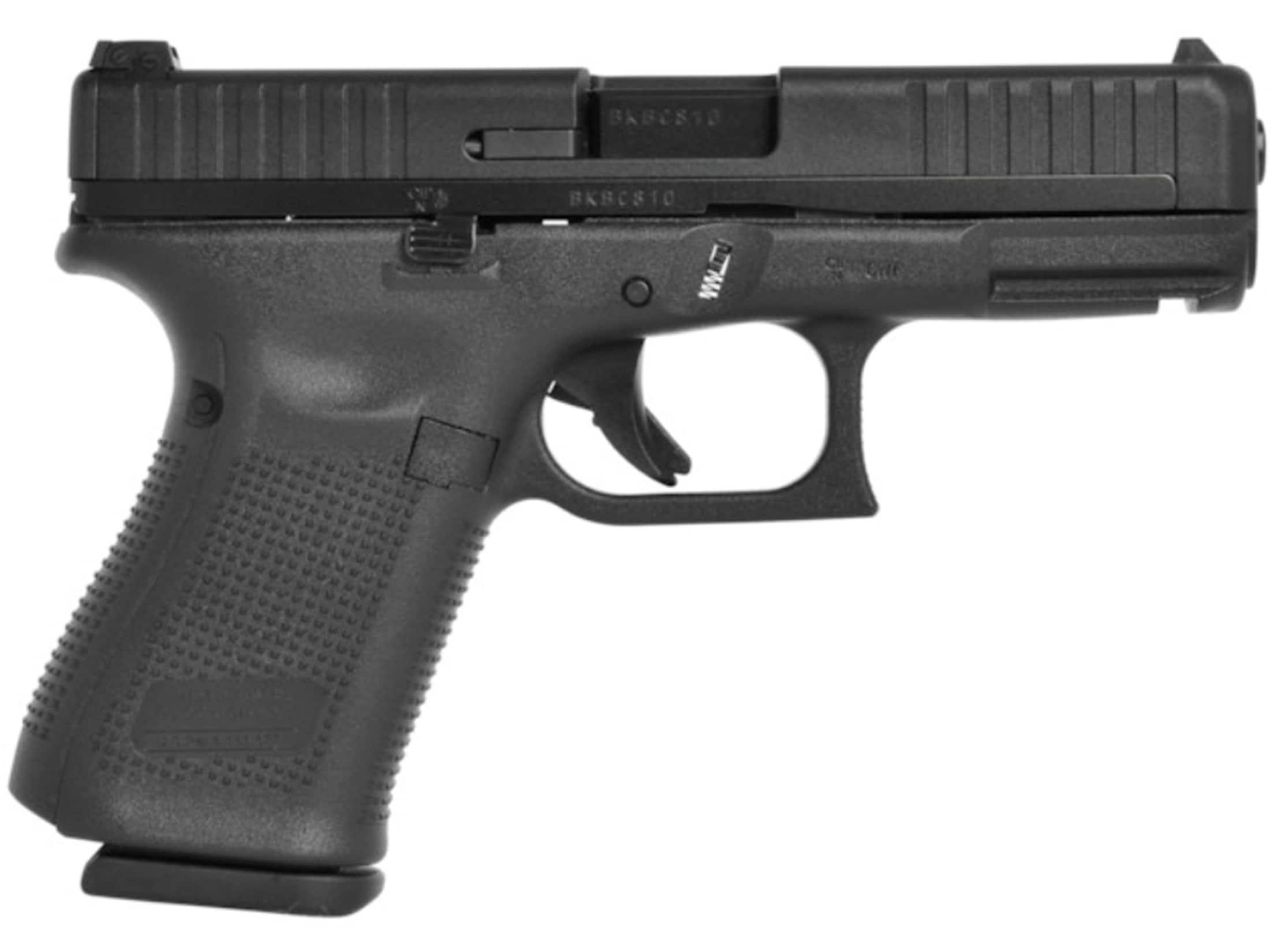 Image of Glock 44 Pistol 22 Long Rifle Fixed Sights 10-Round Polymer Black