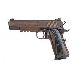 Image of Sig Sauer 1911 Spartan II .45 ACP Pistol, Distressed Coyote Tan - 1911R-45-SPARTANII