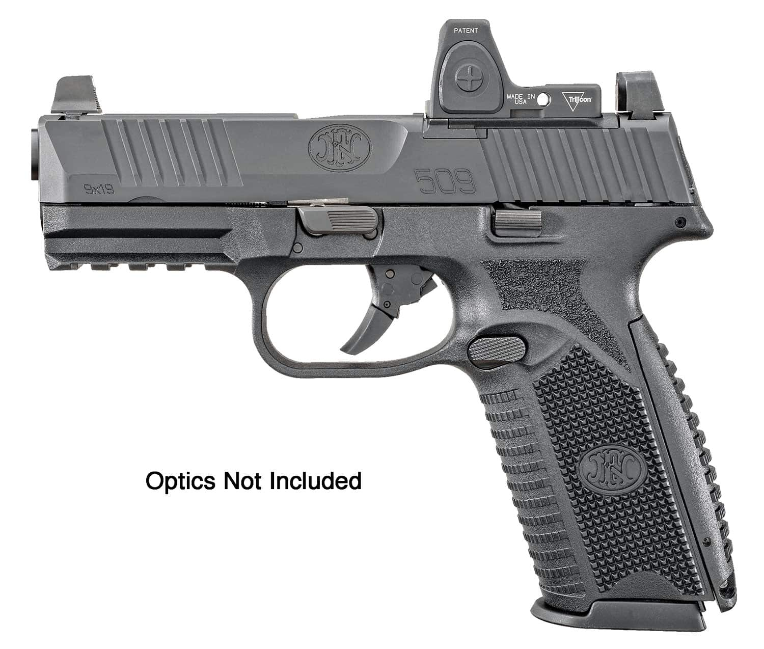 """Image of FN 509 Mid-Size MRD 9mm, 4"""" Barrel, Optic Ready, 15rd"""