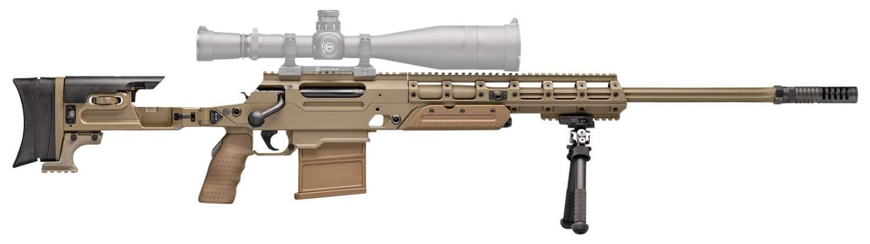"Image of FN Ballista Dual Caliber Kit 338 Lapua-308 Win, 338 Laupa- 26"" Heavy Fluted Barrel, 308 Win- 24"" Barrel, Flat Dark Earth, Folding Stock, 5rd and 8rd"