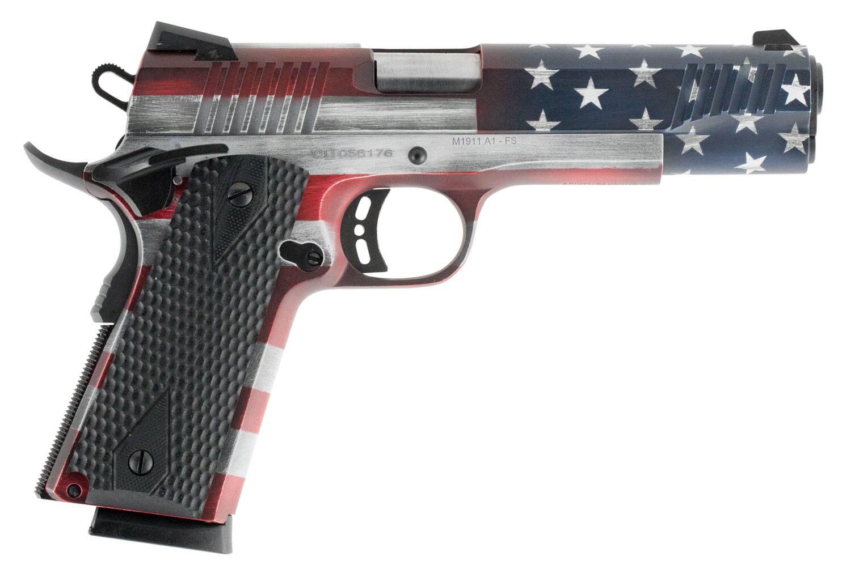 Image of CITADEL 1911-A1 USA American Flag