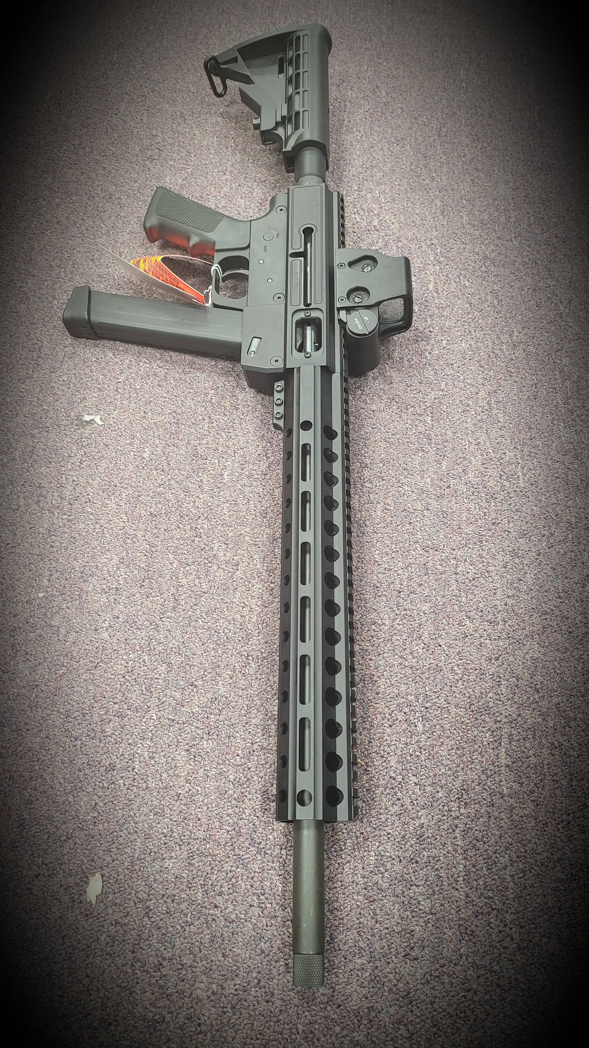 Image of JUST RIGHT CARBINE 10rd magazine Just Right Carbine Gen 3 9mm MLok Rail