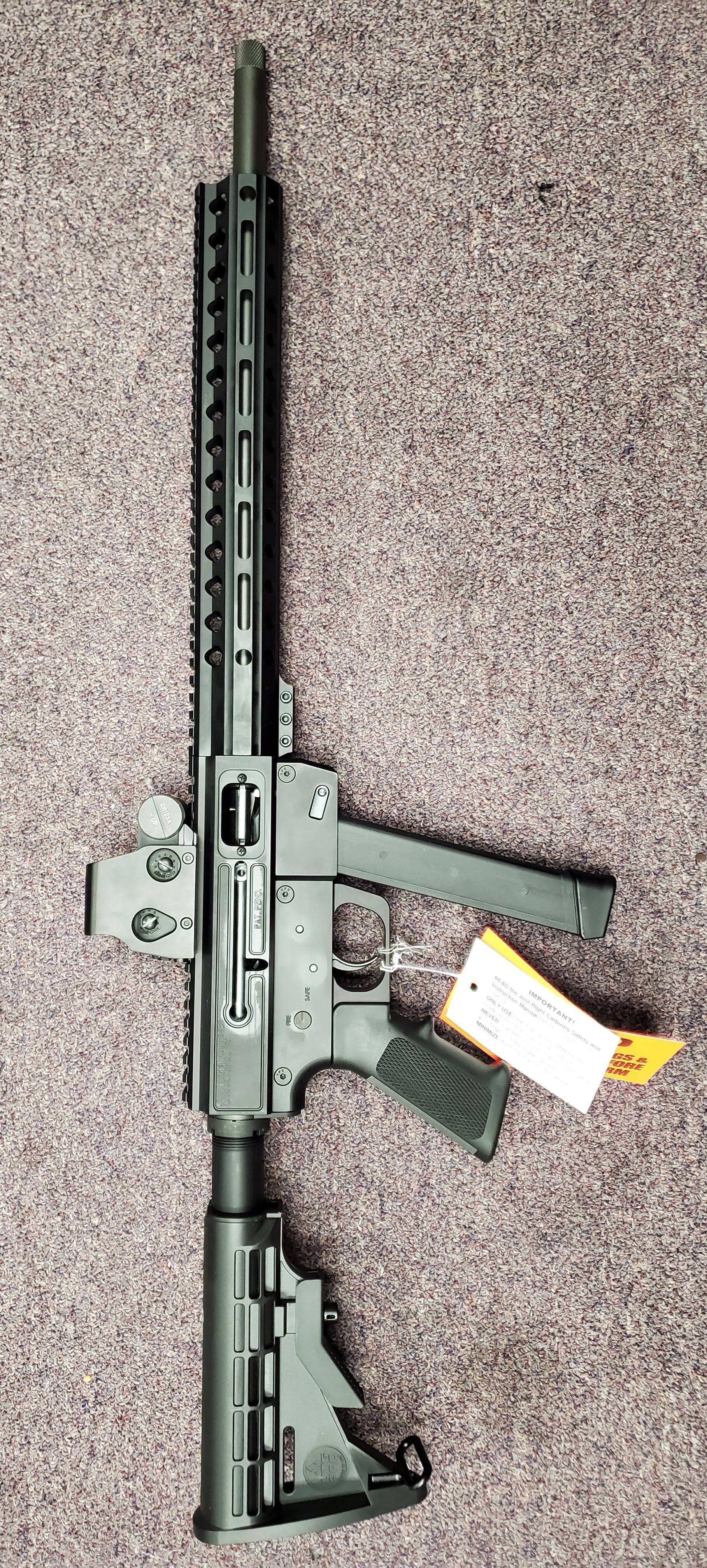 Image of JUST RIGHT CARBINE Full package Just Right Carbine Gen 3 9mm MLok Rail