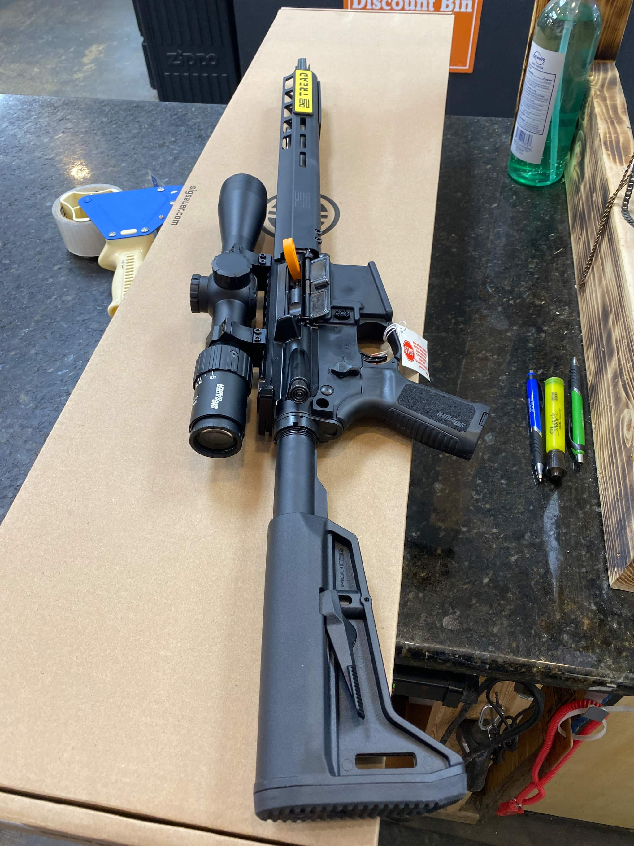 "Image of Sig M400 TREAD AR-15 Package 223/556 16"" SS Barrel, Magpul SL-K Stock, M-Lok Handguard, W/3.5-10x42mm SIERRA 3 BDX Rifle Scope, 30Rd Mag"