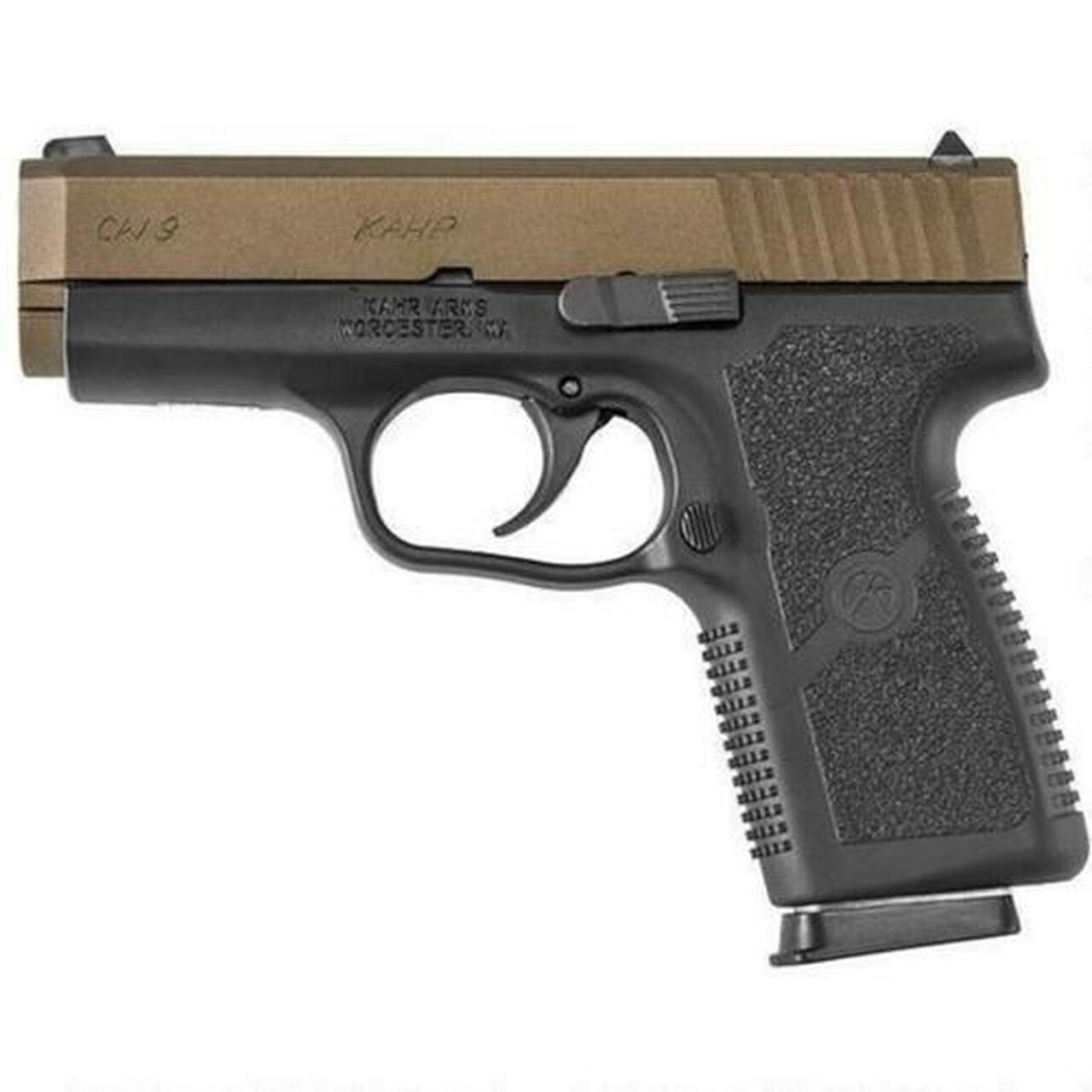 Image of Kahr Arms CW9 BURNT BRONZE Finish, 9MM, 7 Rnd