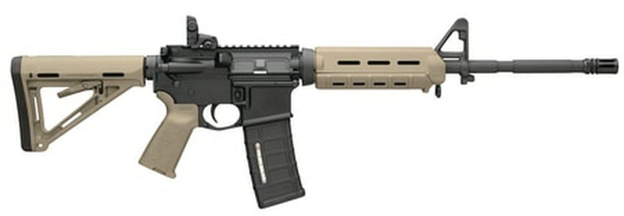 Image of Bushmaster AR-15 5.56/223 MOE M4 Carbine, Flat Dark Earth, Magpul MOE Equiped 30rd Mag