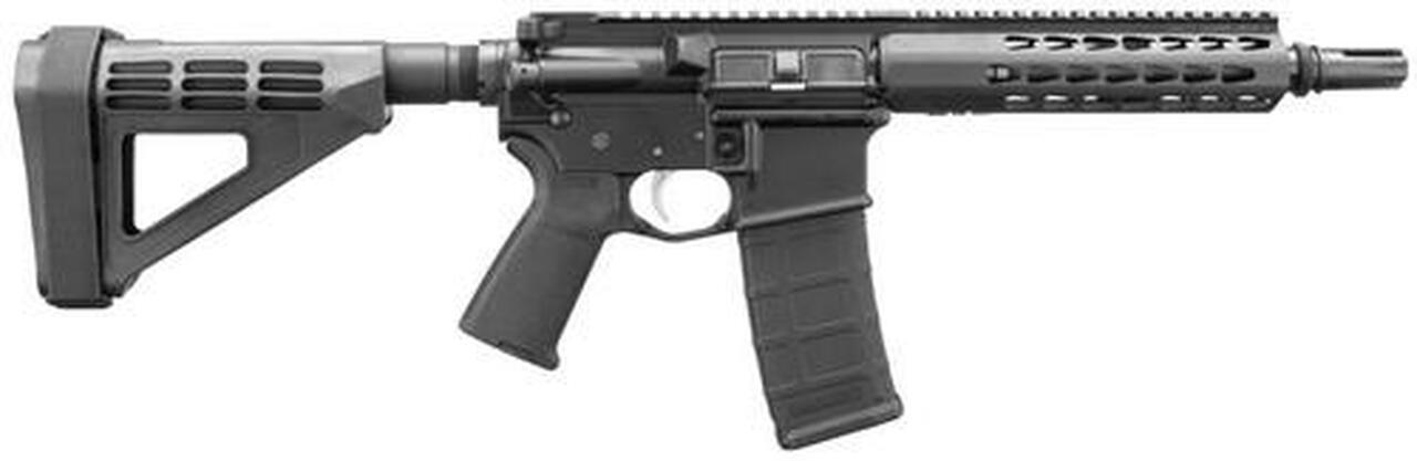 "Image of Bushmaster AR-15 Pistol Square Drop Rail 300 BO/Whisper 9.5"" Barrel SB Brace 30Rd Mag"