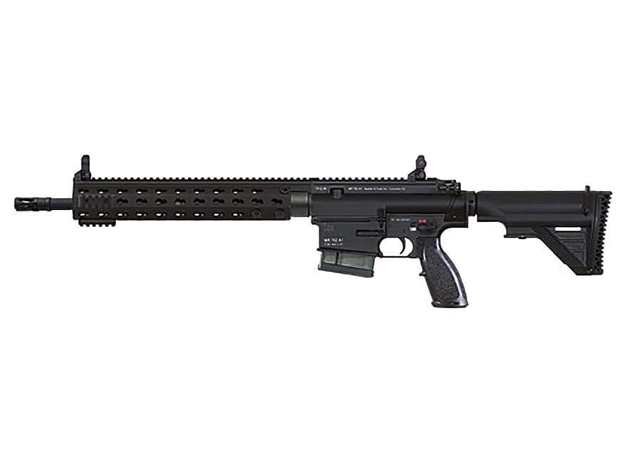 "Image of HK MR7762 Rifle 7.62x51mm NATO 16.5"" Barrel, 10-Round Black Keymod with Troy Micro Sights"