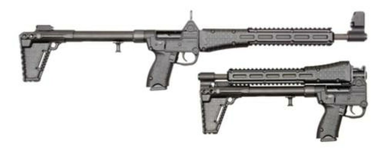 Image of Kel-Tec Sub-2000, .40 S&W, Beretta 96 Grip, 10rd Mag, Black