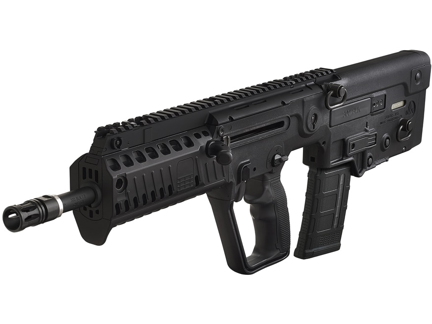 """Image of IWI Tavor X95-XB16 Bull-Pup Rifle 300 AAC Blackout (7.62x35mm) 16.5"""" Chrome Lined Barrel, 30-Round Black"""