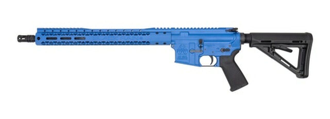 "Image of Black Rain AR-15 Special, 5.56/.223, 16"" Barrel, XL Handguard. NRA Blue. 30rd Mag"