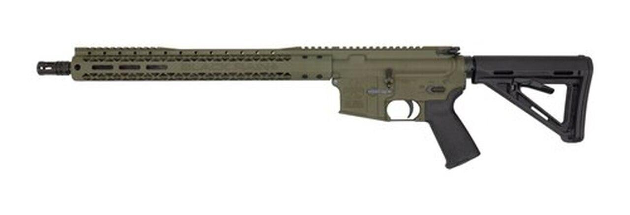 "Image of Black Rain AR-15 Special 5.56/223 16"" Barrel XL Handguard OD Green Finish 30rd Mag"
