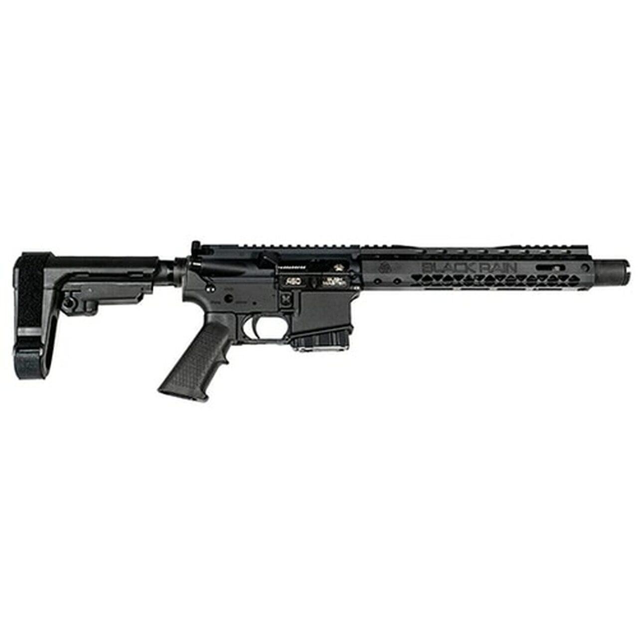 """Image of Black Rain Ordnance Spec15 Pistol, .450 Bushmaster, 10.5"""", SBA3 Pistol Brace, Black"""