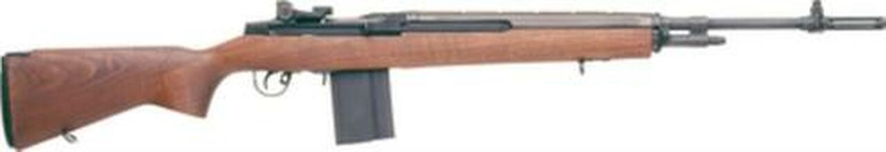 "Image of Springfield M1A Super Match SA 7.62 NATO 22"" Walnut Stock Black 10rd"