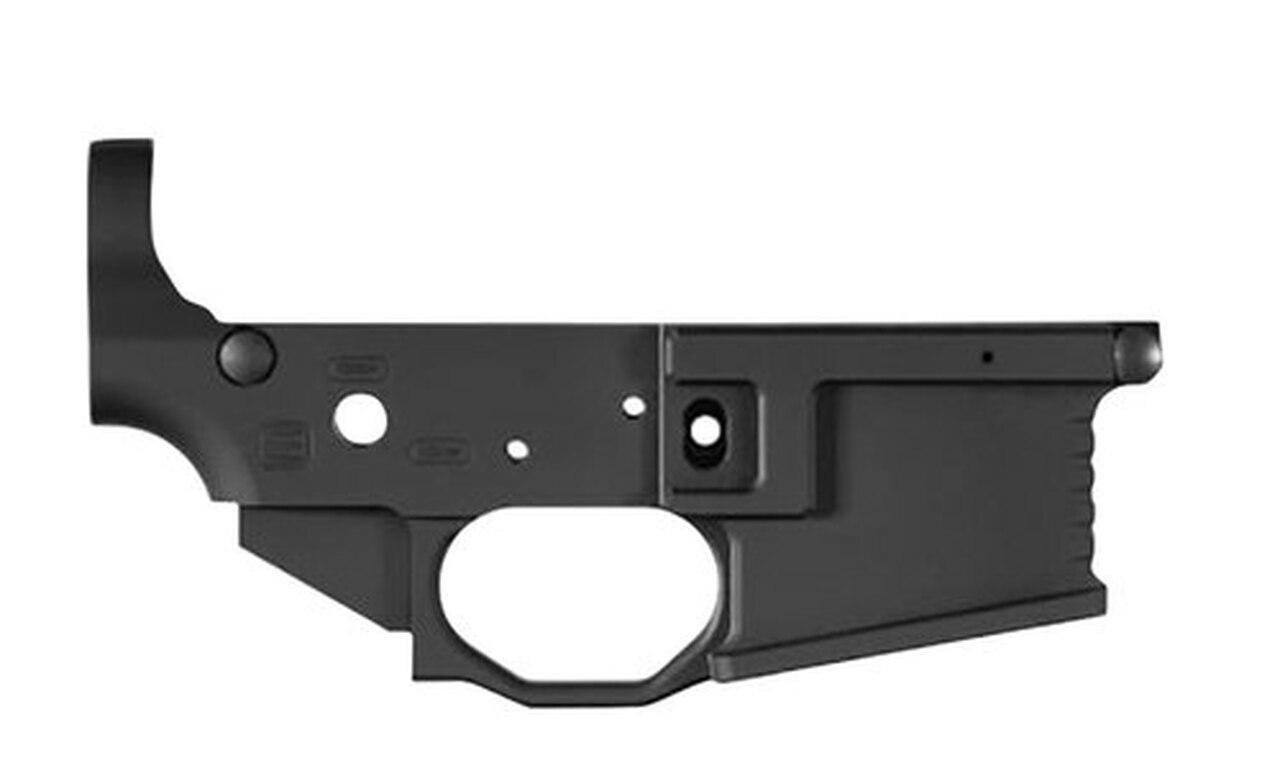 Image of Black Rain BRO Milled Strtipped Lower Receiver AR-15 223/5.56mm Black Hardc