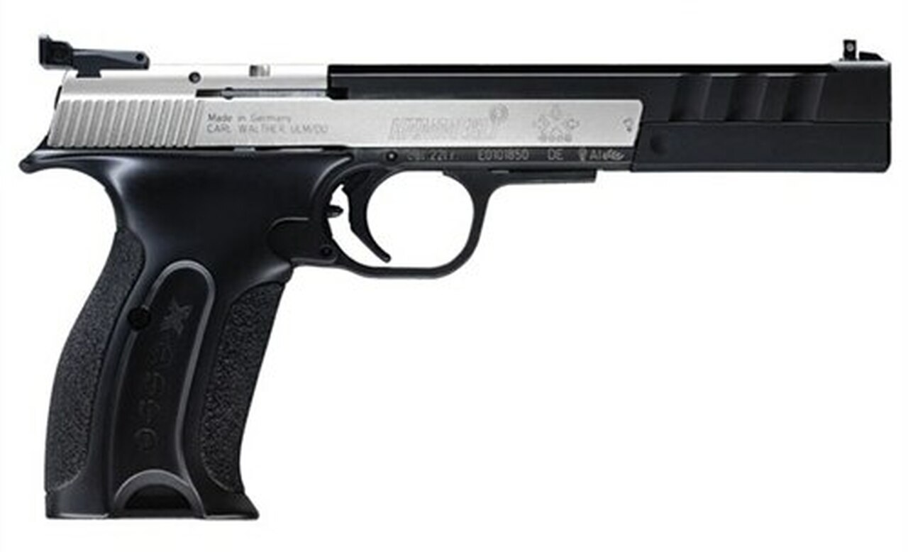 """Image of Walther Hammerli X-Esse Sport Pistol Long 22LR 6"""" Barrel 2x 10rd Mags"""
