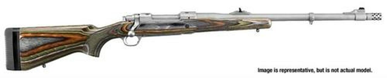 """Image of Ruger Guide Gun, 300 RCM Ruger Compact Magnum, 20"""", SS, Laminated Stock"""