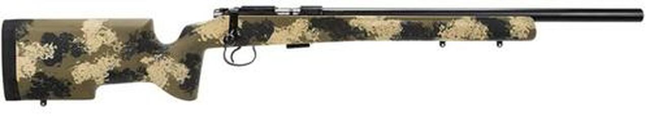 Image of CZ 455 Varmint Precision Trainer .22LR 20.5 5 Round Mag Manners Camo Composite T4 Stock