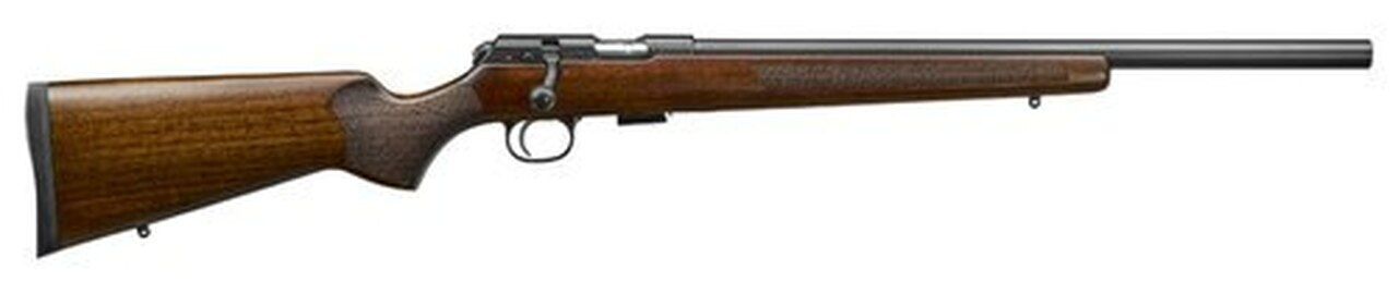 "Image of CZ 457 Varmint, .17 HMR, 20.5"" Barrel, 5rd, Turkish Walnut/Varmint Style"