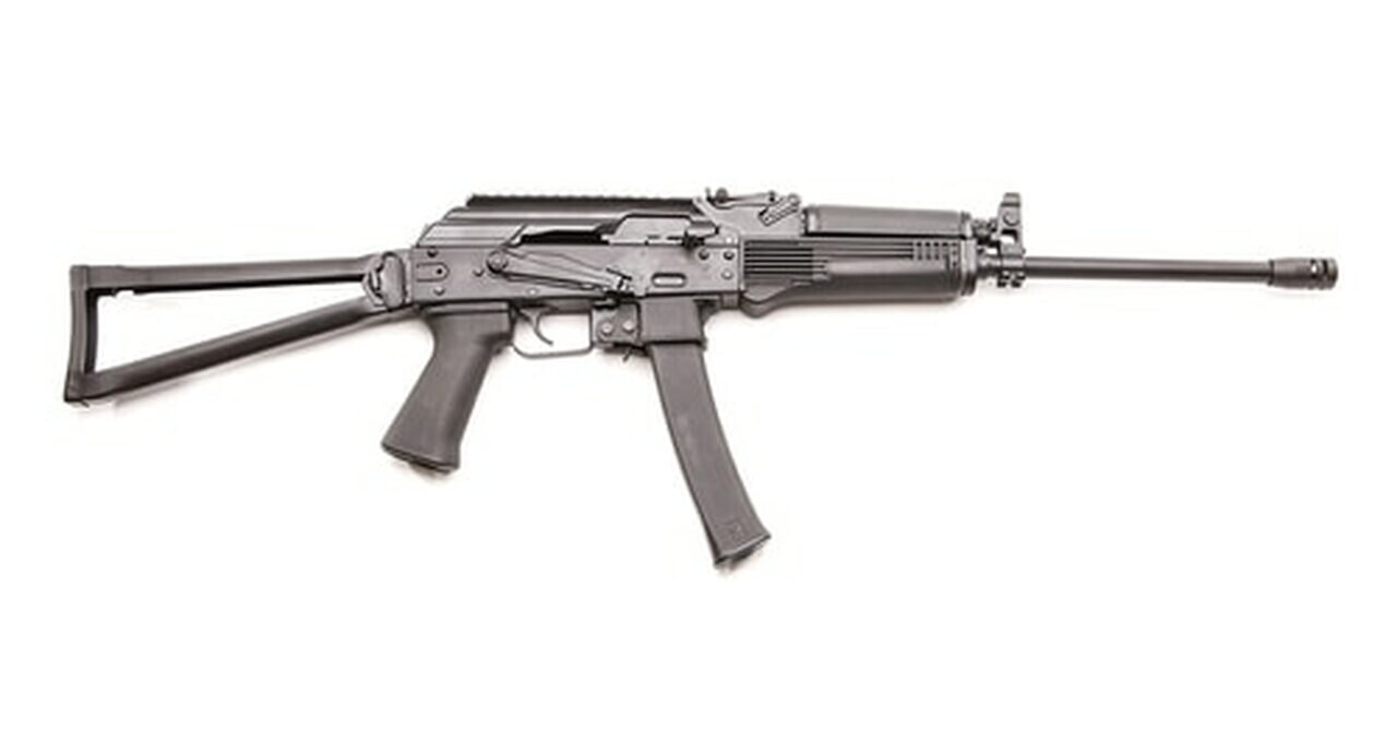 "Image of Kalashnikov KR-9 9mm, 16"" Barrel, Black, Side Folding Stock, 30rd"
