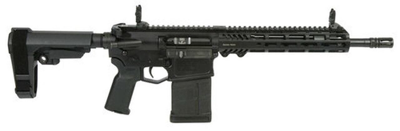 "Image of Adams Arms P2, .308 Win, 12.5"" Barrel, M-LOK, SBA3 Pistol Brace, Black"
