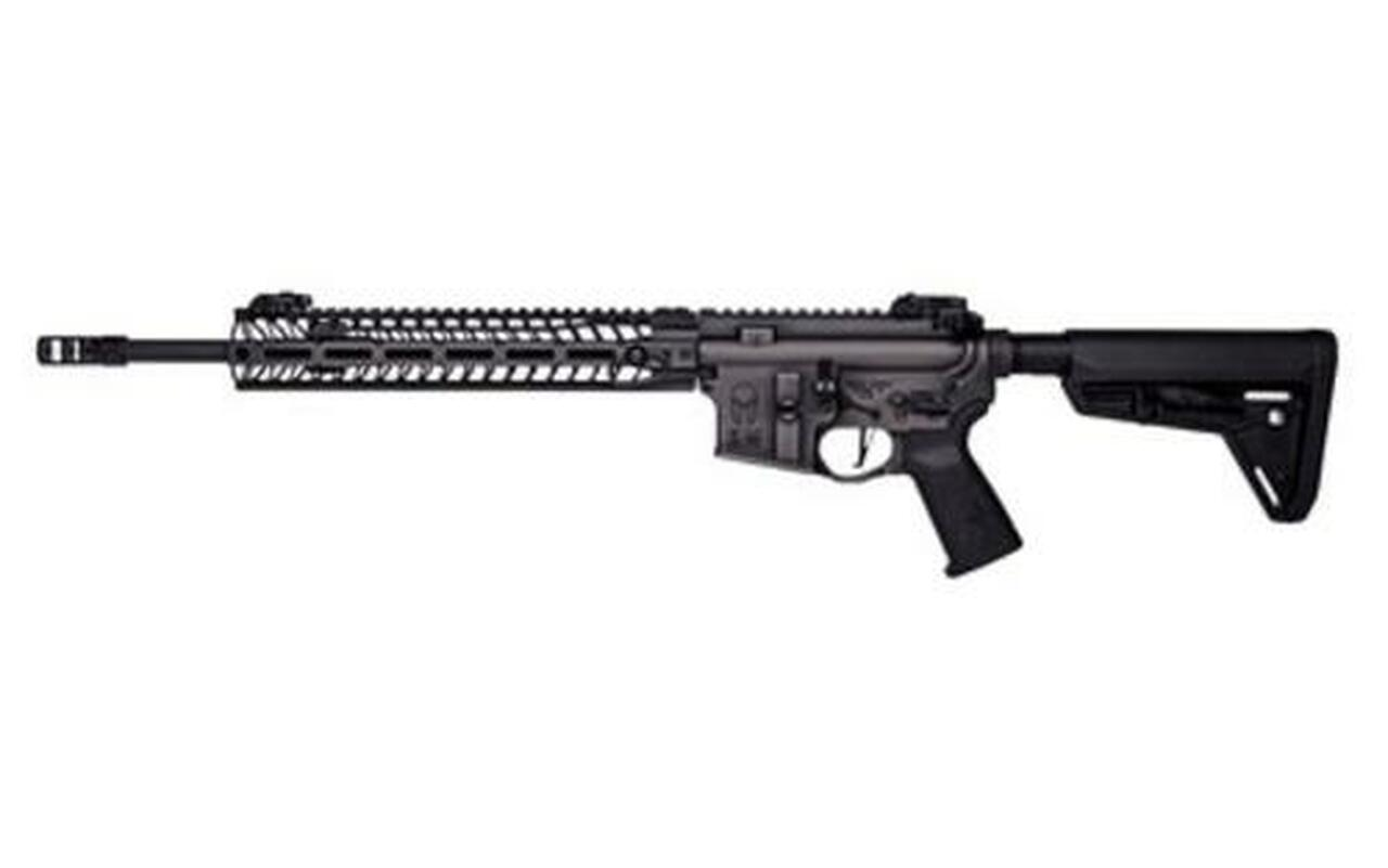 """Image of Spike's Tactical, Spartan AR-15 223/556, 16"""" Chrome Lined Barrel Nickel Boron Coated Battleworn Finish, No Mag"""