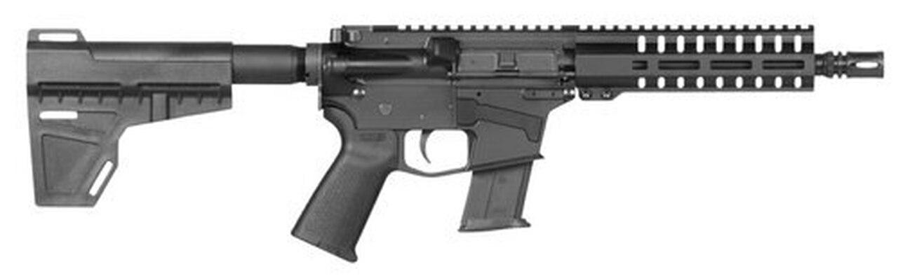 "Image of CMMG Mk57 AR15 Pistol 5.7x28 8"" Barrel Stabilising Brace 20rd Mag"