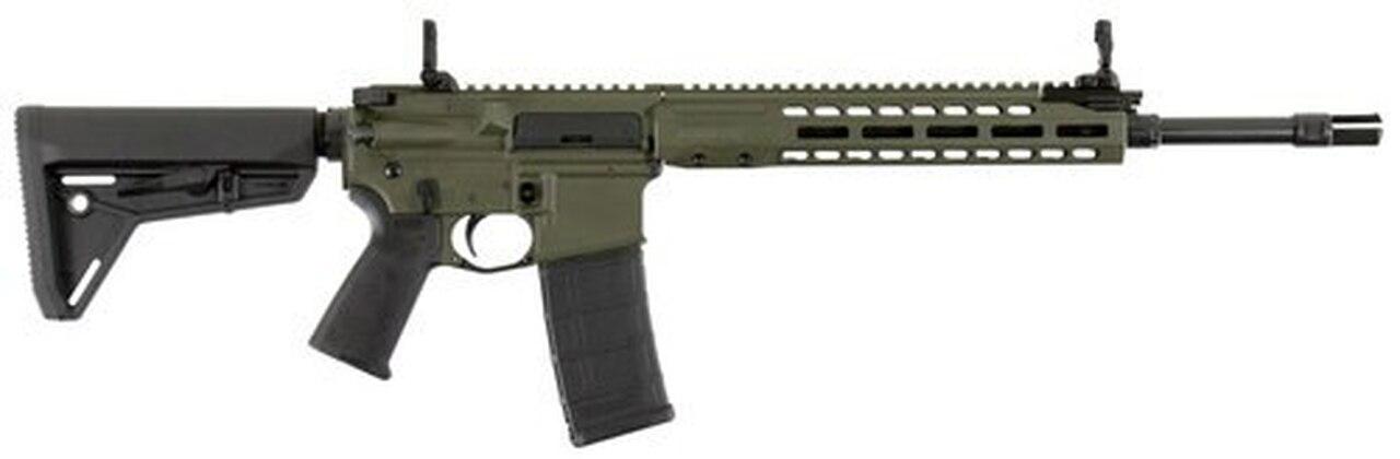 """Image of Barrett REC7 Carbine, .223/5.56, 16"""" Barrel, 30rd, Magpul MOE Stock, OD Green"""