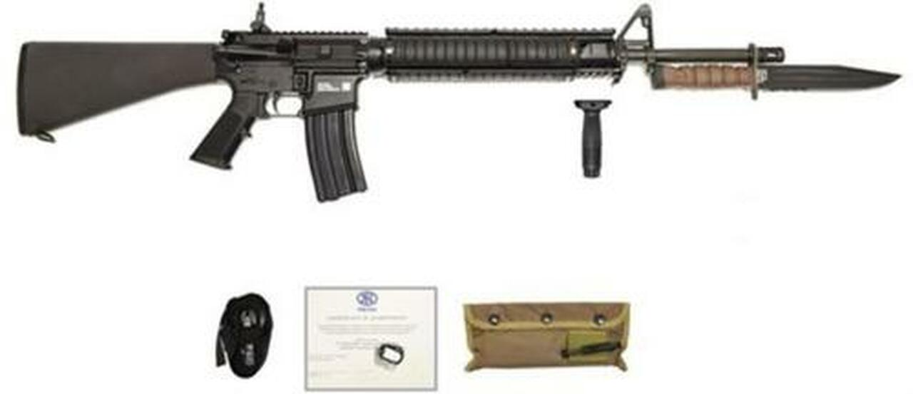 """Image of FN 15 M-16 Military Collector Series Limited Edition 5.56 20"""" Barrel OKC3S Bayonet 30 Rd Mag"""