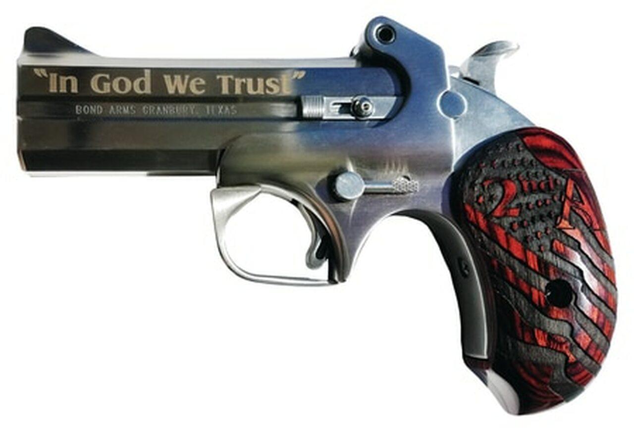 "Image of Bond Arms 2nd Amendment 45 Colt/410 Ga, 4.25"""