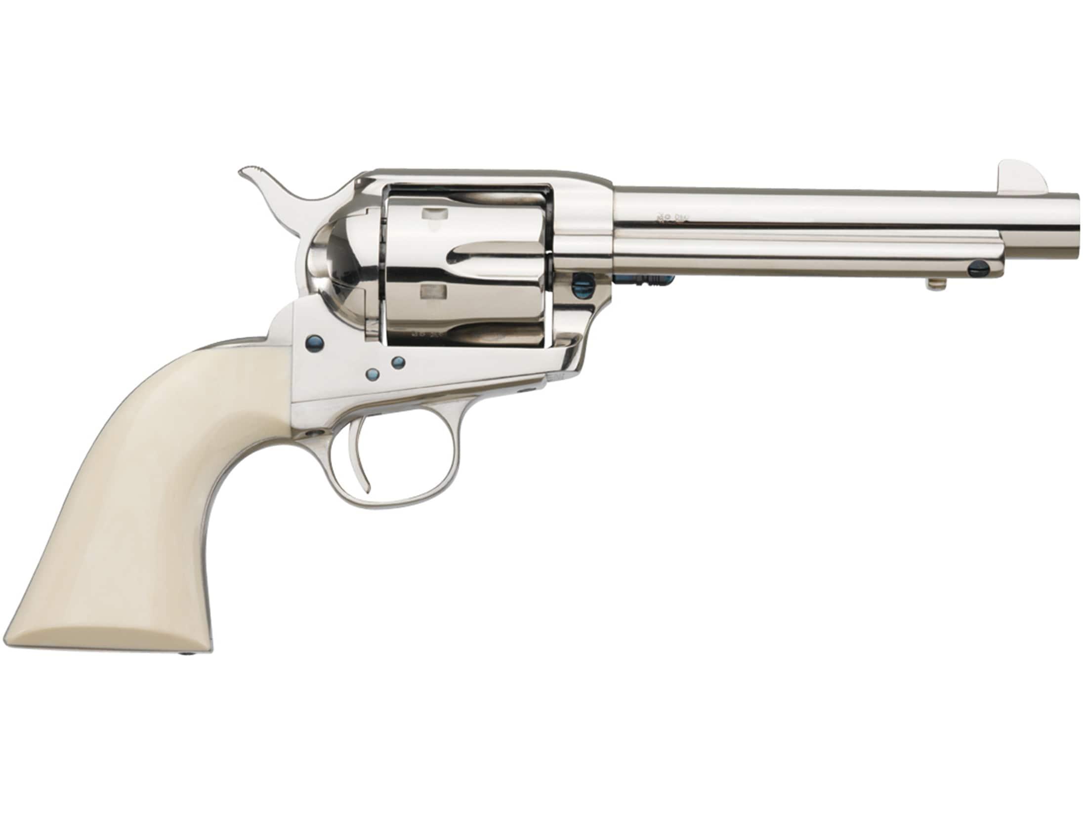 "Image of Uberti 1873 Cattleman II Cody 45 Colt (Long Colt) Revolver 7.5"" Barrel"
