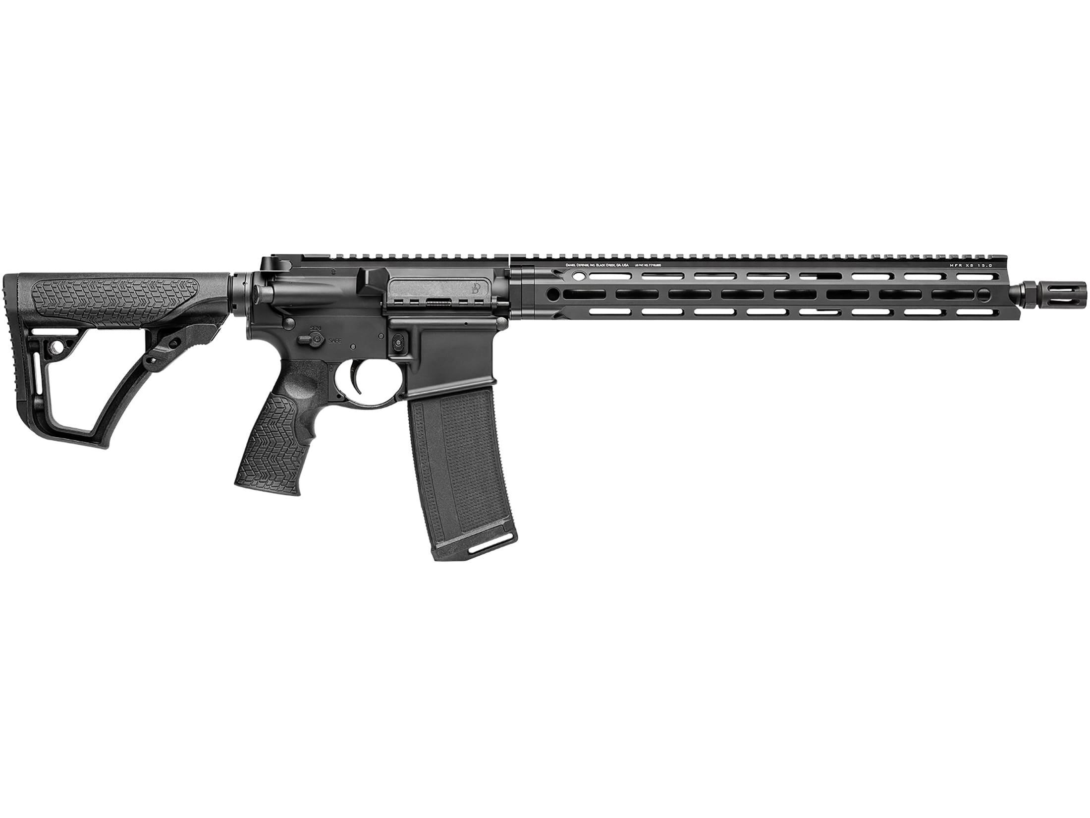 """Image of Daniel Defense DDM4v7 LW Carbine 5.56x45mm NATO 16"""" Barrel 32-Round M-LOK Polymer Black"""