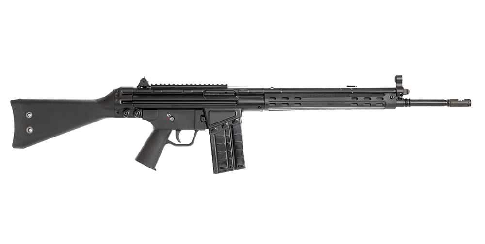 Image of Century C308 Semi-Auto Rifle, 1x 5rd and 2x 0rd Mags