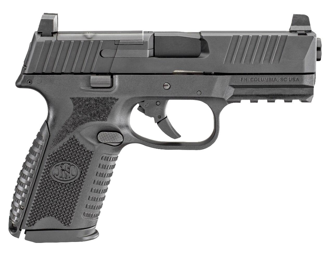 """Image of FN 509 Midsize MRD 9mm, 4"""" Barrel, Black, 15rd"""