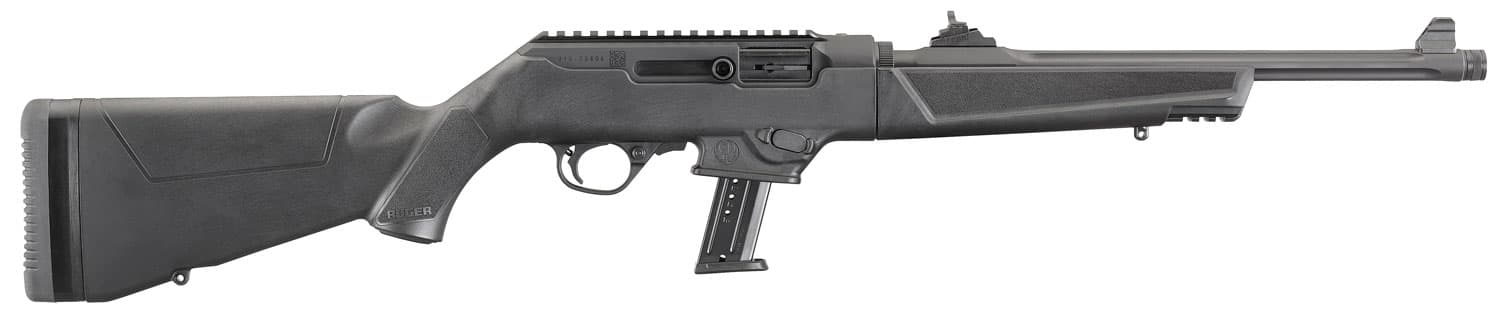 """Image of Ruger PC9 PC Carbine 9mm Take Down 16"""" Threaded Barrel, Ruger & Glock Mags 10rd Mag"""