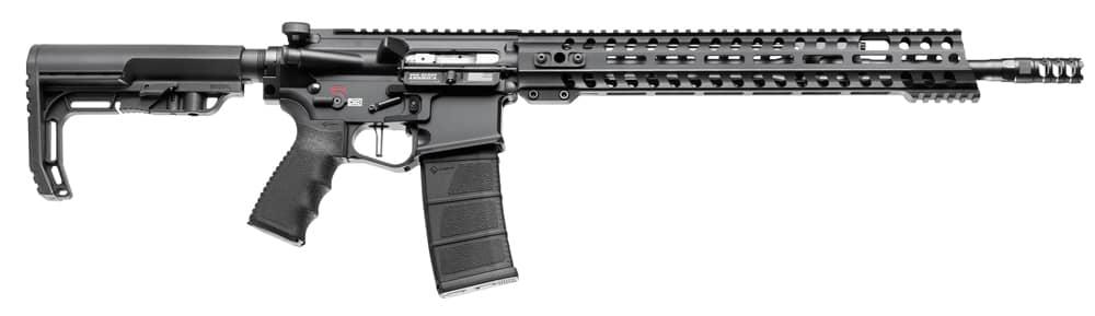 "Image of POF RENEGADE + PLUS 5.56mm NATO 16"" Puritan Barrel M-LOK Adjustable Stock 30rd Mag"