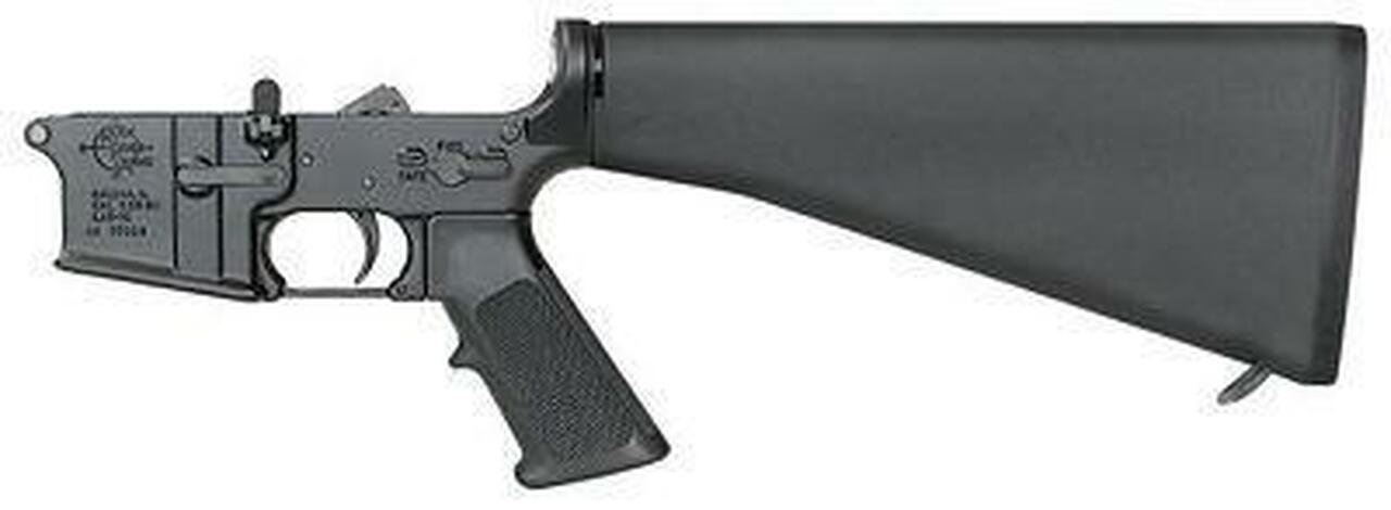 Image of Rock River Arms LAR-15 AR-15 5.56 Complete Lower Half / Standard Trigger / A2 Buttstock