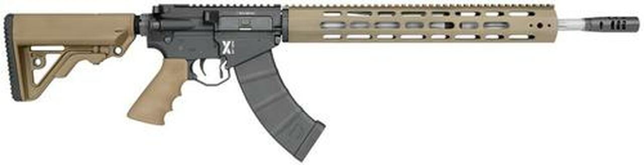 "Image of Rock River Arms LAR-47 X-Series 7.62x39 18"" Barrel Tan 30 Rd Mag"