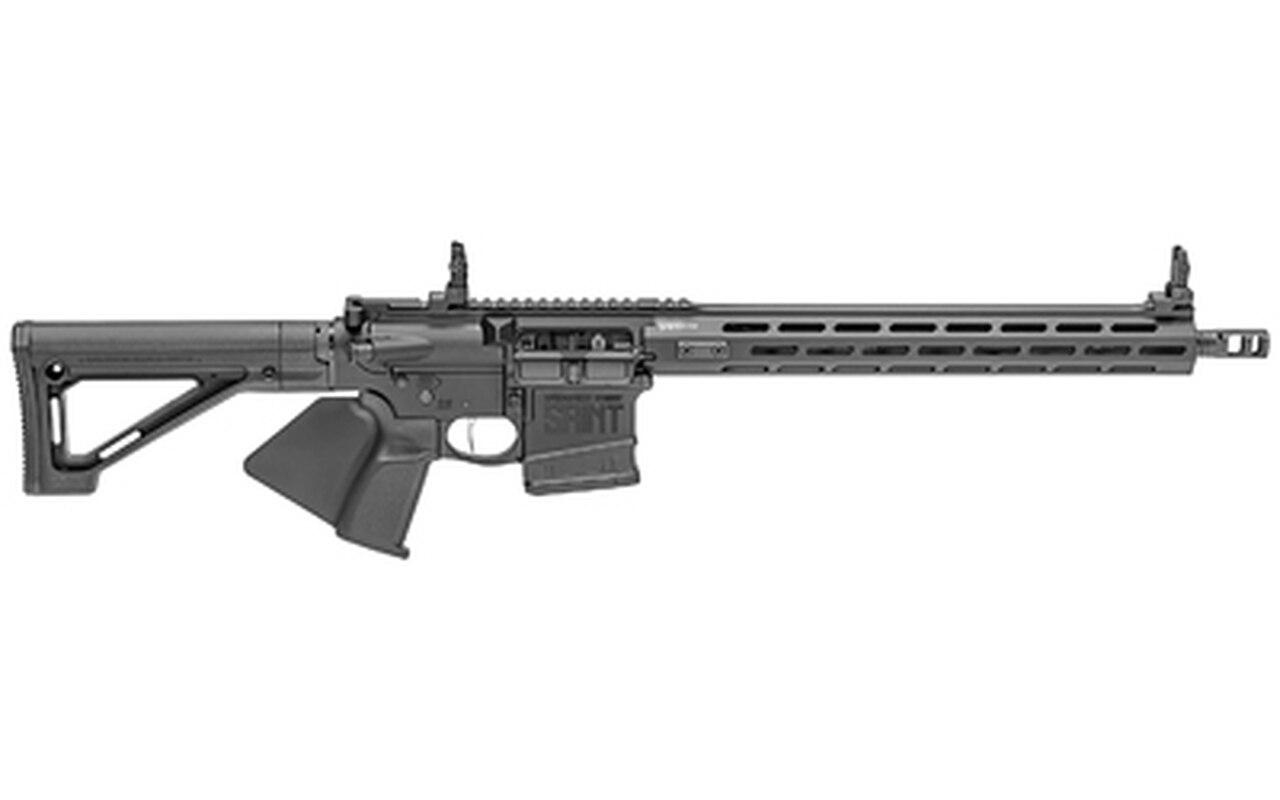 "Image of Springfield Saint Victor AR-15 308 Winchester, 16"" Lightweight 1:10 Barrel, Black, 15"" M-LOK, Front/Rear Flip, 20rd"