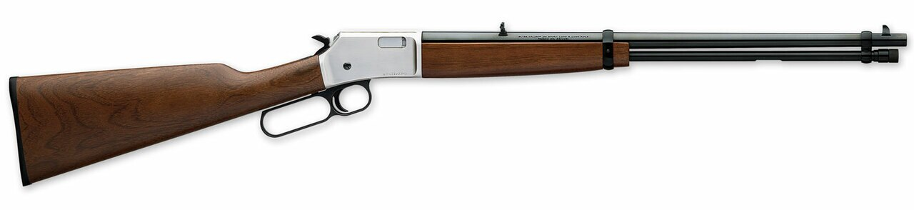 """Image of Browning BL-22 Grade I 22 Short/Long/LR, 20"""" Barrel, Satin Black, Walnut, Satin Nickel, 15rd"""