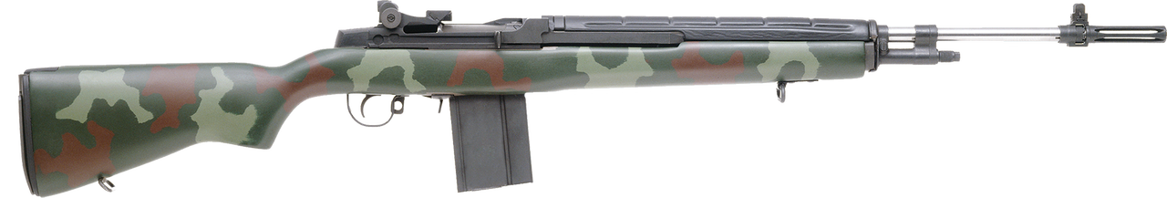 "Image of Springfield M1A Super Match Semi-Auto 7.62 NATO 22"" Camo Synthetic Stock SS 10rd"