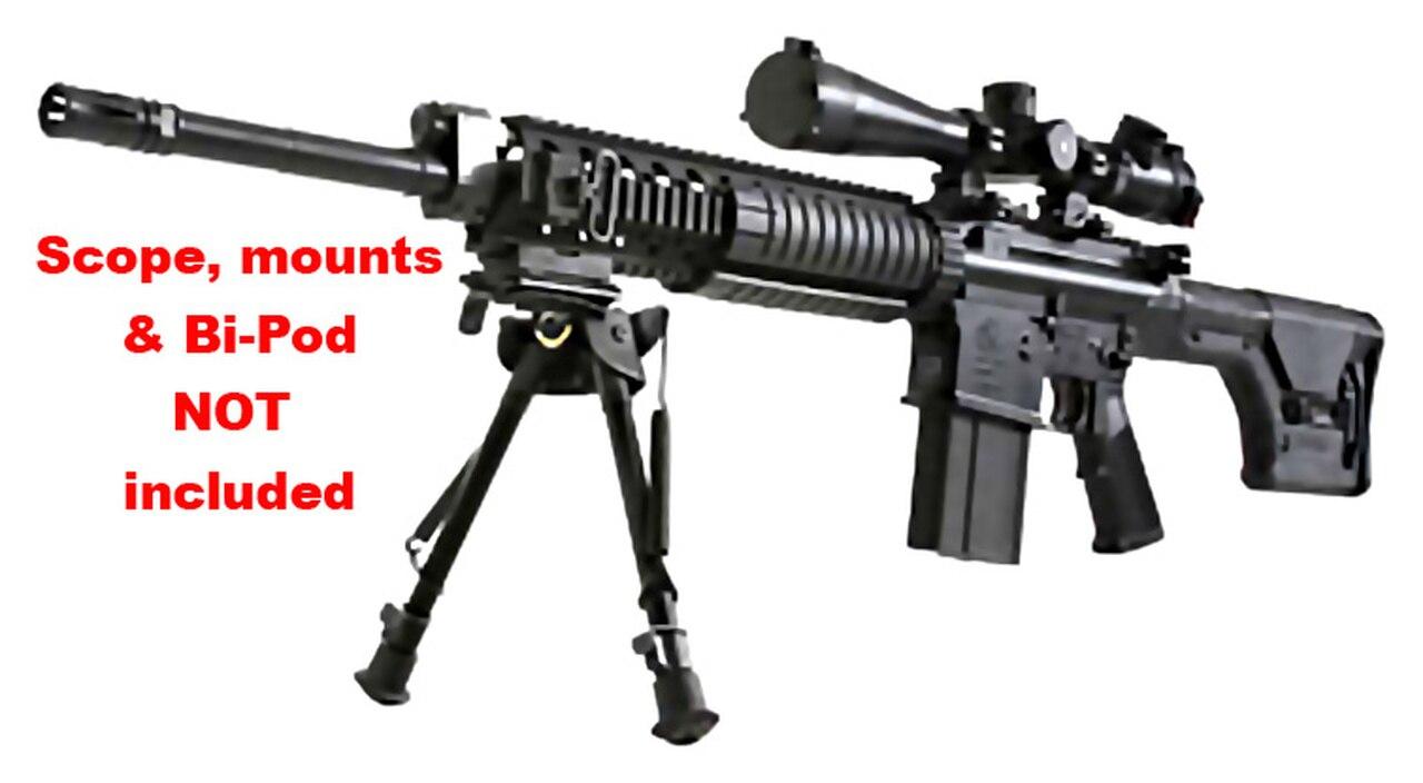 "Image of Armalite AR10 SuperSASS 7.62/308 Rifle, MagPul Stock 20"" barrel 20rd Mag"