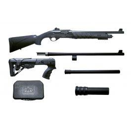 Image of PSA AK-V 9mm MOE ALG Railed Triangle Side Folding Pistol, Black