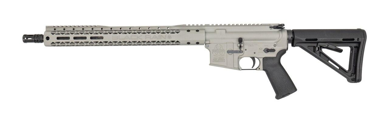 "Image of Black Rain AR-15 Special 5.56/223 16"" Barrel XL Handguard Smiths Grey Finish 30rd Mag"
